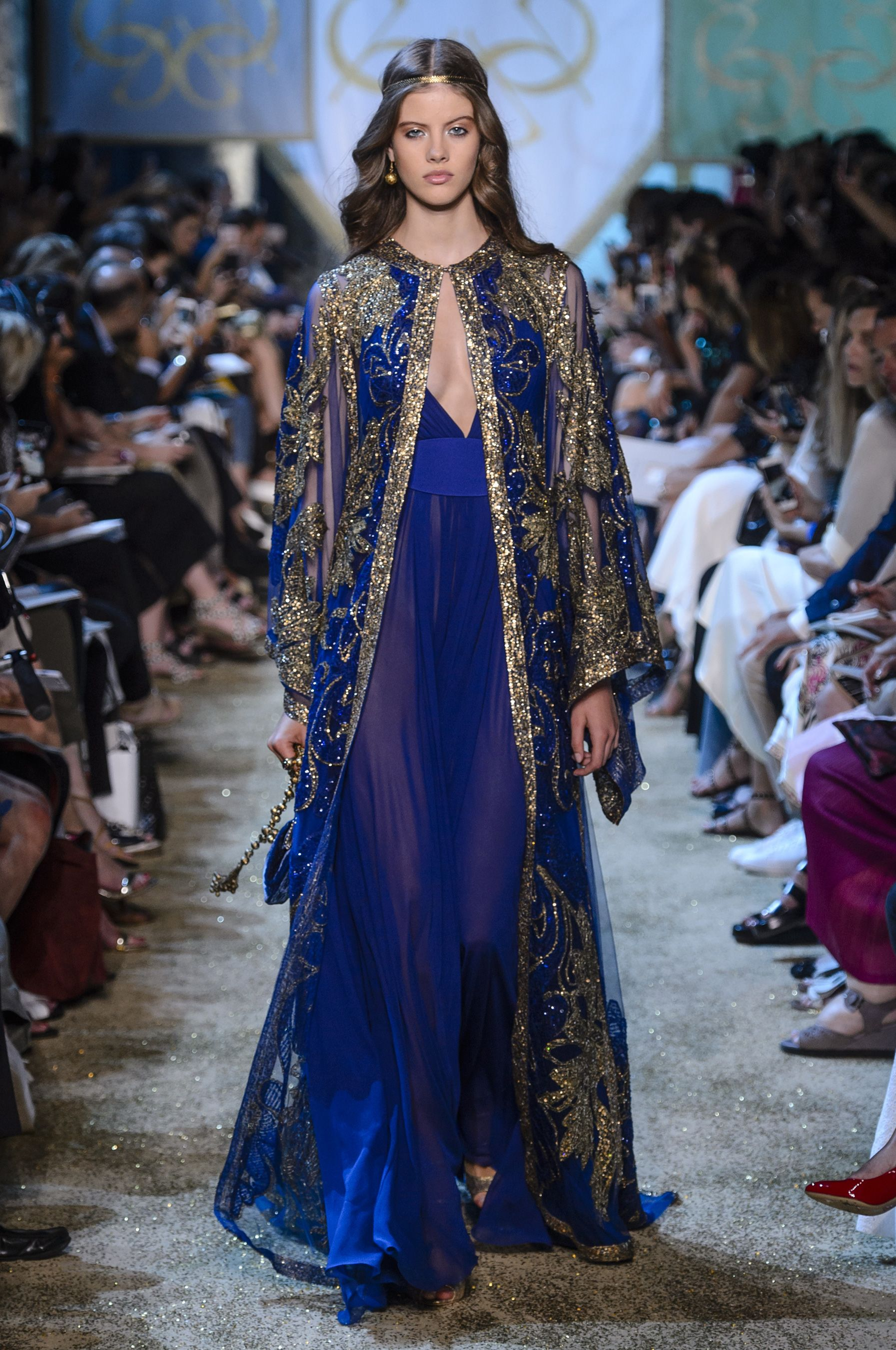 See elie saabus fairytale couture show elie saab winter and