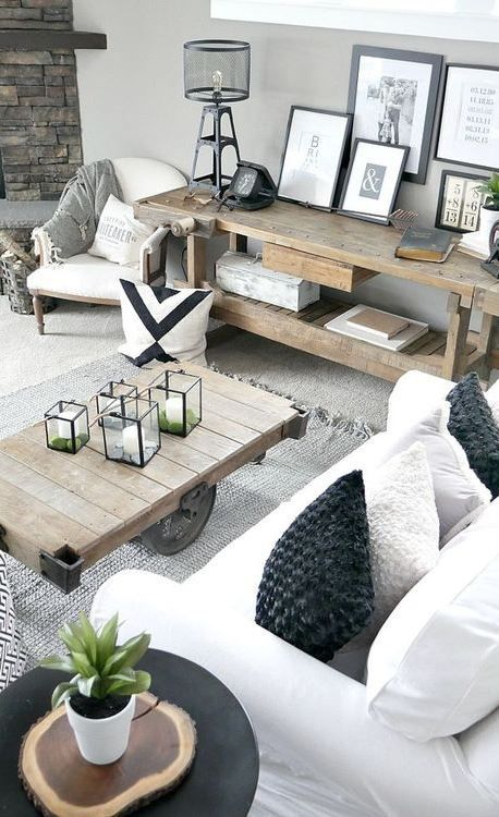 40 Cozy Loft Interior Design You Will Want To Try | Salon industriel ...