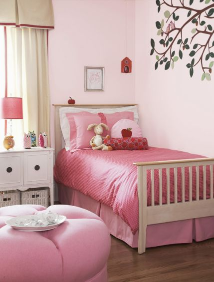 A Woodland Nursery. Girls Bedroom ...
