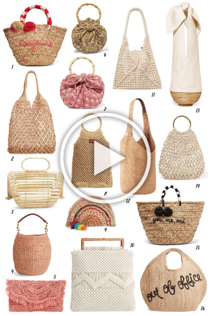 The Best Bags for Summer   Story of My Dress #style #fashion #bags #bagsandpurses #summerstyle #summerfashion #summerbag