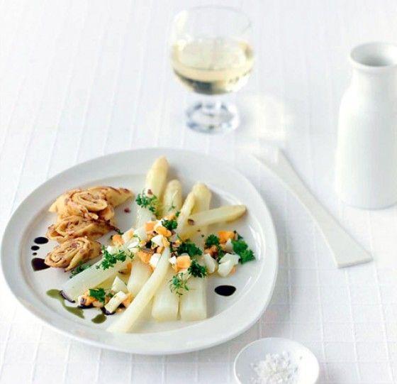 Spargelsalat vinaigrette