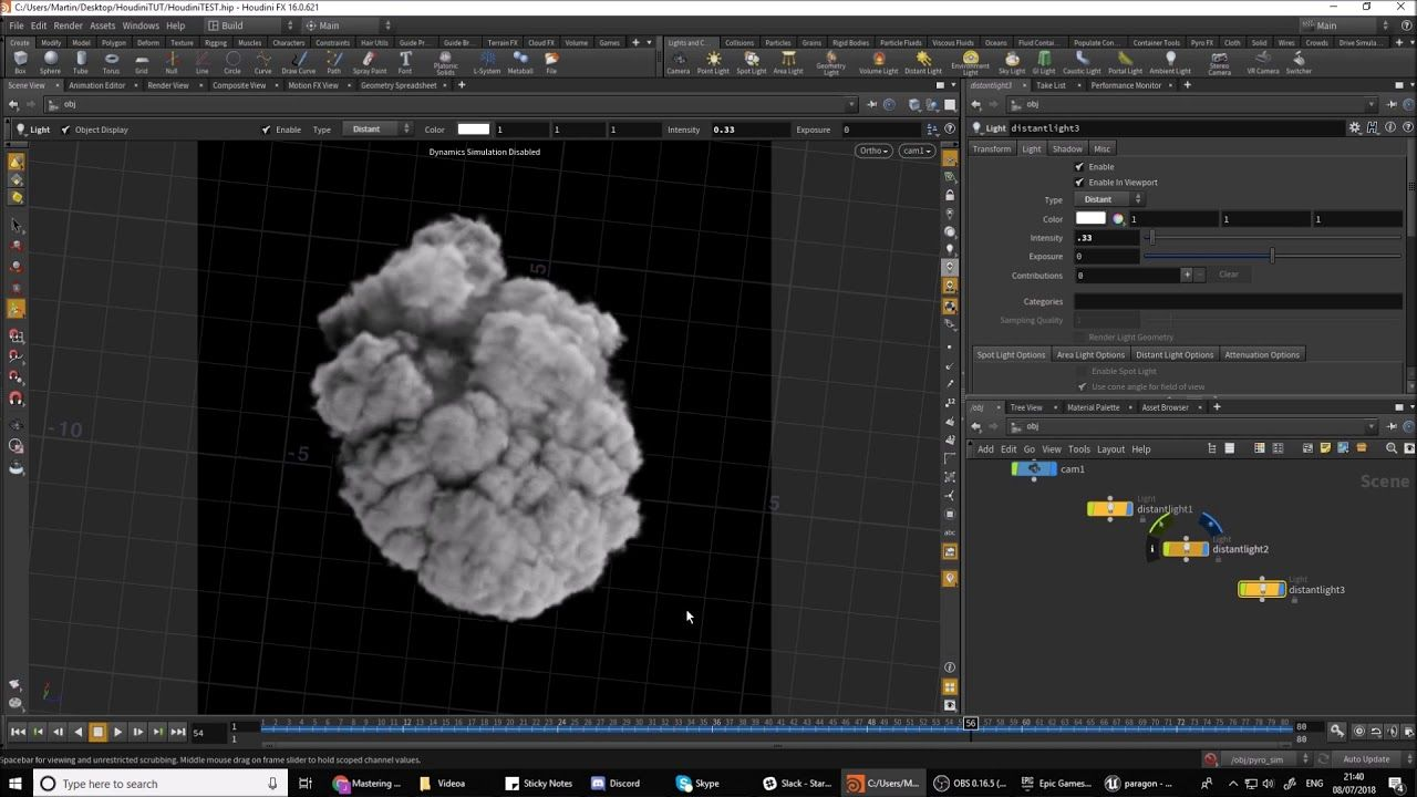 Real time VFX: Houdini to UE4 pyro sim    - VFX - Tutorials