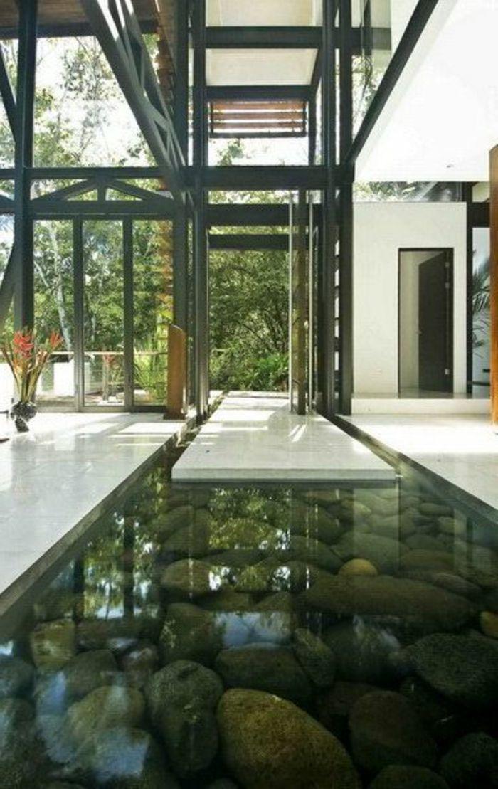 Décoration asiatique piscine décorative dintérieur