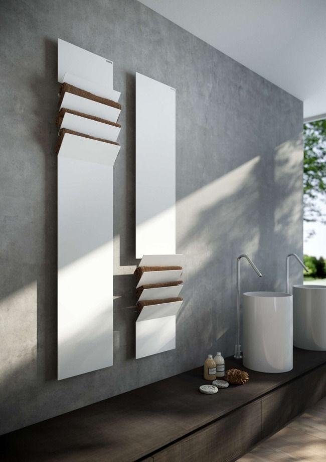 design heizkörper badezimmer handtuchhalter vertikal weiss flaps ... - Design Heizkorper Wohnzimmer