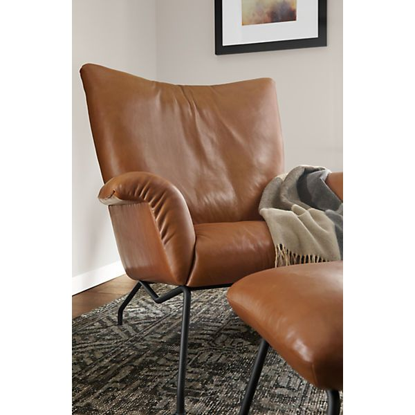 Paris Leather Chair Ottoman Modern Leather Chair Leather Lounge Chair Chair And Ottoman
