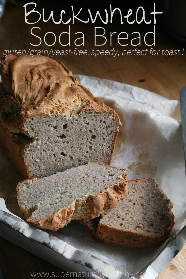 Buckwheat Soda Bread Gluten & Grain Free Recipe