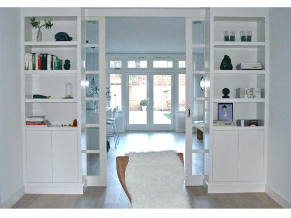 Kamer en suite in jaren 30 woning Interieur design by nicole - ideen für kleine küchen