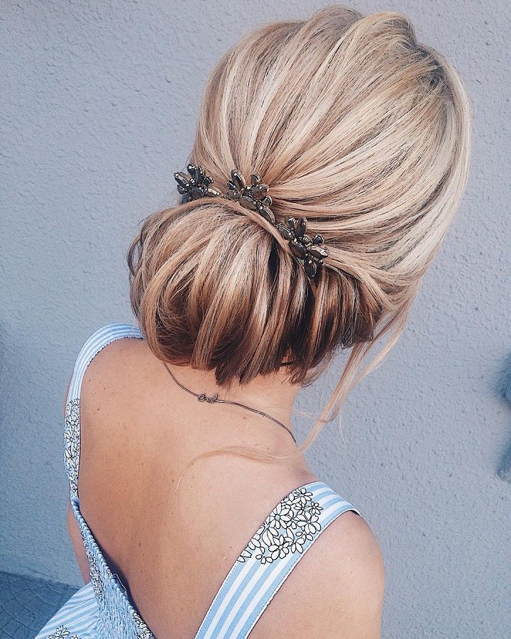 Gorgeous Updos Wedding hairstyle | fabmood.com #weddinghair #updobraid #updos bridal hair #hairstyles #weddinghairs #weddingupdos