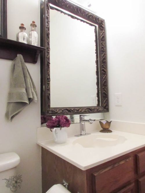 How To Upgrade Your Frameless Mirror In 5 Minutes Mirror Upgrade