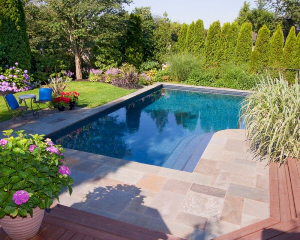 60 Amazing Lazy L Swimming Pool Ideas Pool Landscaping Luxury