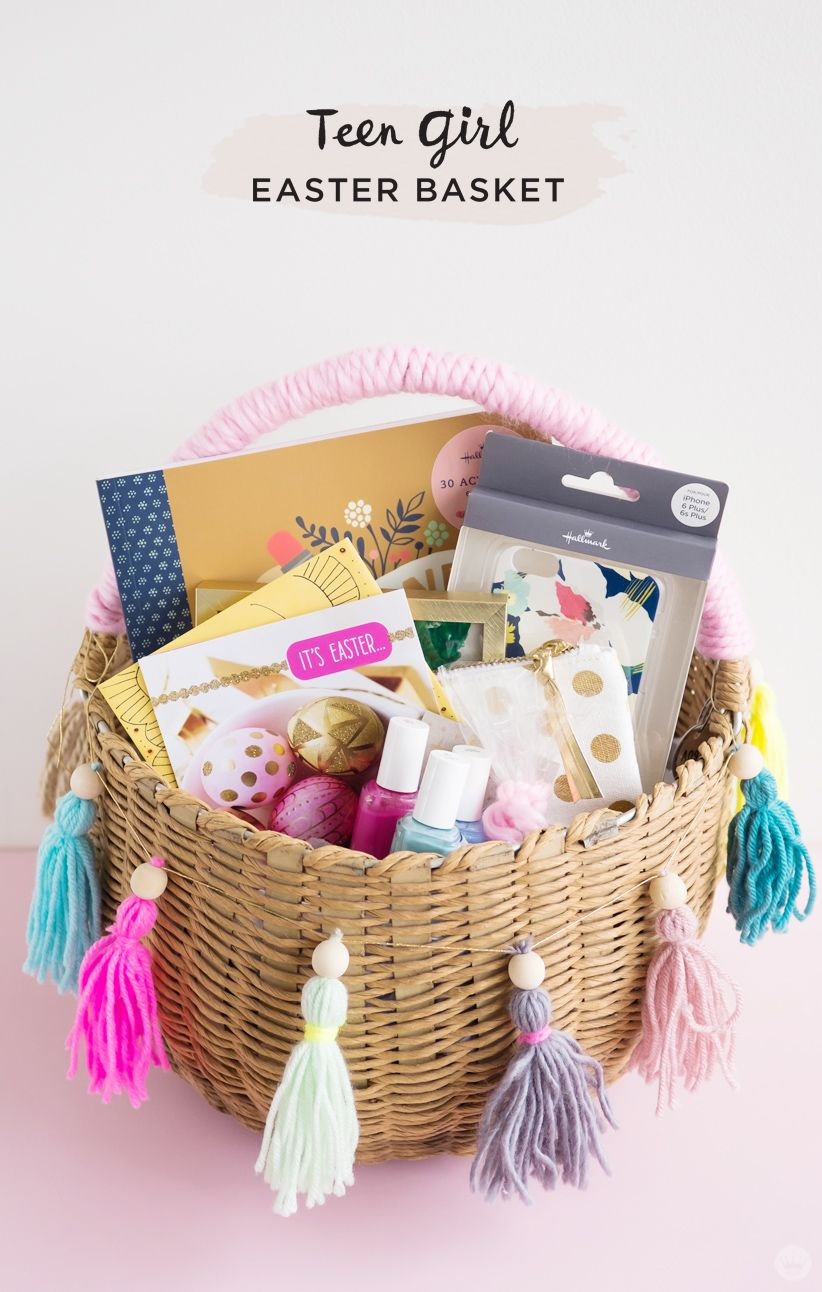 Easter basket ideas for kids from toddlers to teens