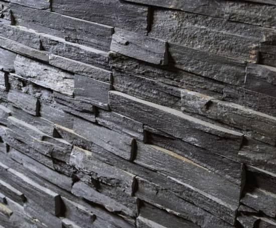 Pin By Trish Mcelroy On T I L E M A T E R I A L S Stone Tile Wall Slate Wall Tiles Living Room Stone Wall