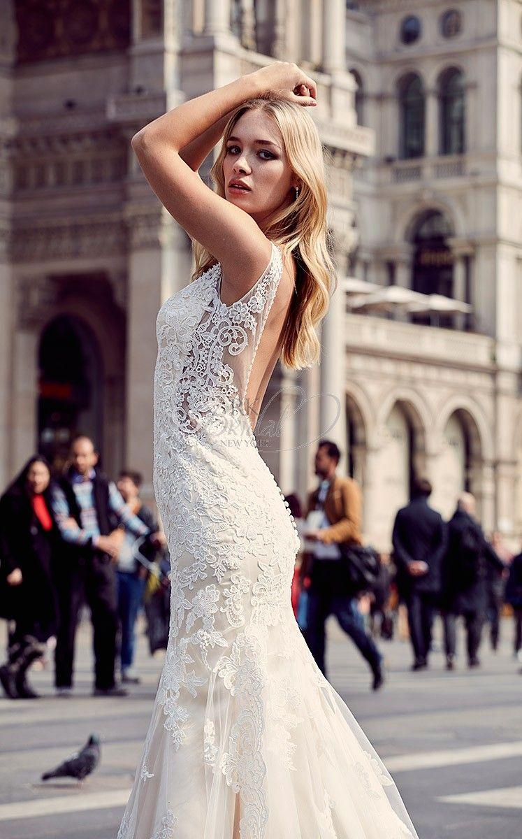 Pre owned wedding dress  Milano Eddy K Bridal Spring  Style MD  Wedding Dresses