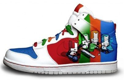 So Nice Rainbow Sneakers Castle Crashers Nike