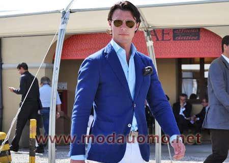 Moda uomo: fazzoletto da taschino