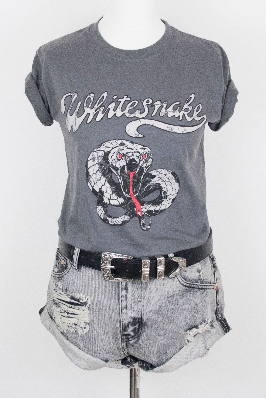 T shirt whitesnake - Whitesnake Tee Band Bandtee Music Classic Rock Rocknroll Snake