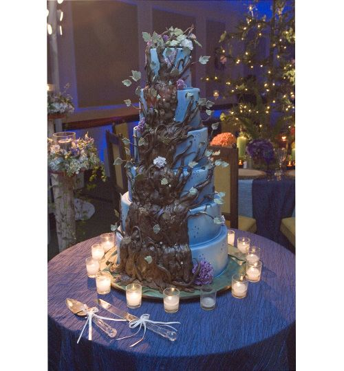 Wedding Enchanted Forest White And Fairy Themed