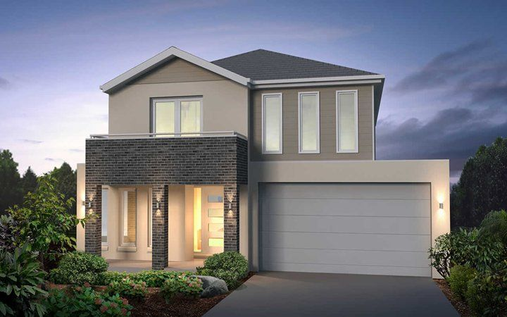 Metricon Home Designs: The Wingrove - Contemporary Facade. Visit www ...