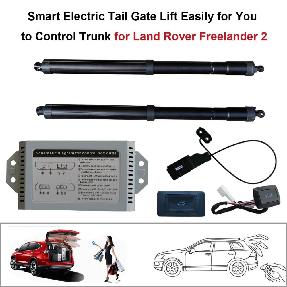 Smart Auto Electric Tail Gate Lift For Land Rover Freelander 2 On The Main Black Socket Use Pin 5 Brake Control Set Height Avoid Pinch With Suction Affiliate