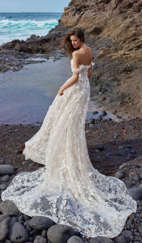 Stunningly Fashion Forward Galia Lahav Wedding Dresses Gala Collection No 5 Boho Wedding Dress Wedding Dresses Bride