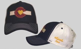 725539307425f Colorado Love Clothing — Colorado Love Trucker Hat-Blue WANT IT ...