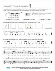 Free Printable Music Worksheets Opus Theory