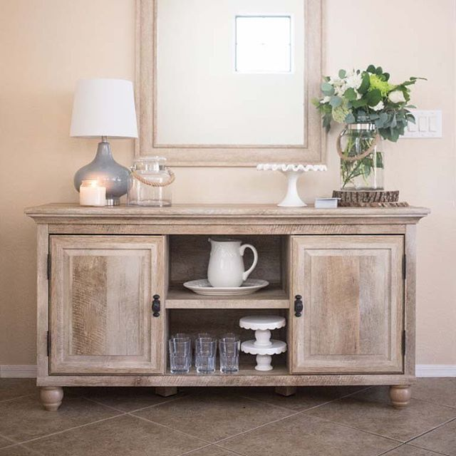 Versatile Furniture Is The Best Furniture And That S Why Our Crossmill Tv Stand Is A Best Dining Room Buffet Table Dining Room Buffet Decor Buffet Table Decor