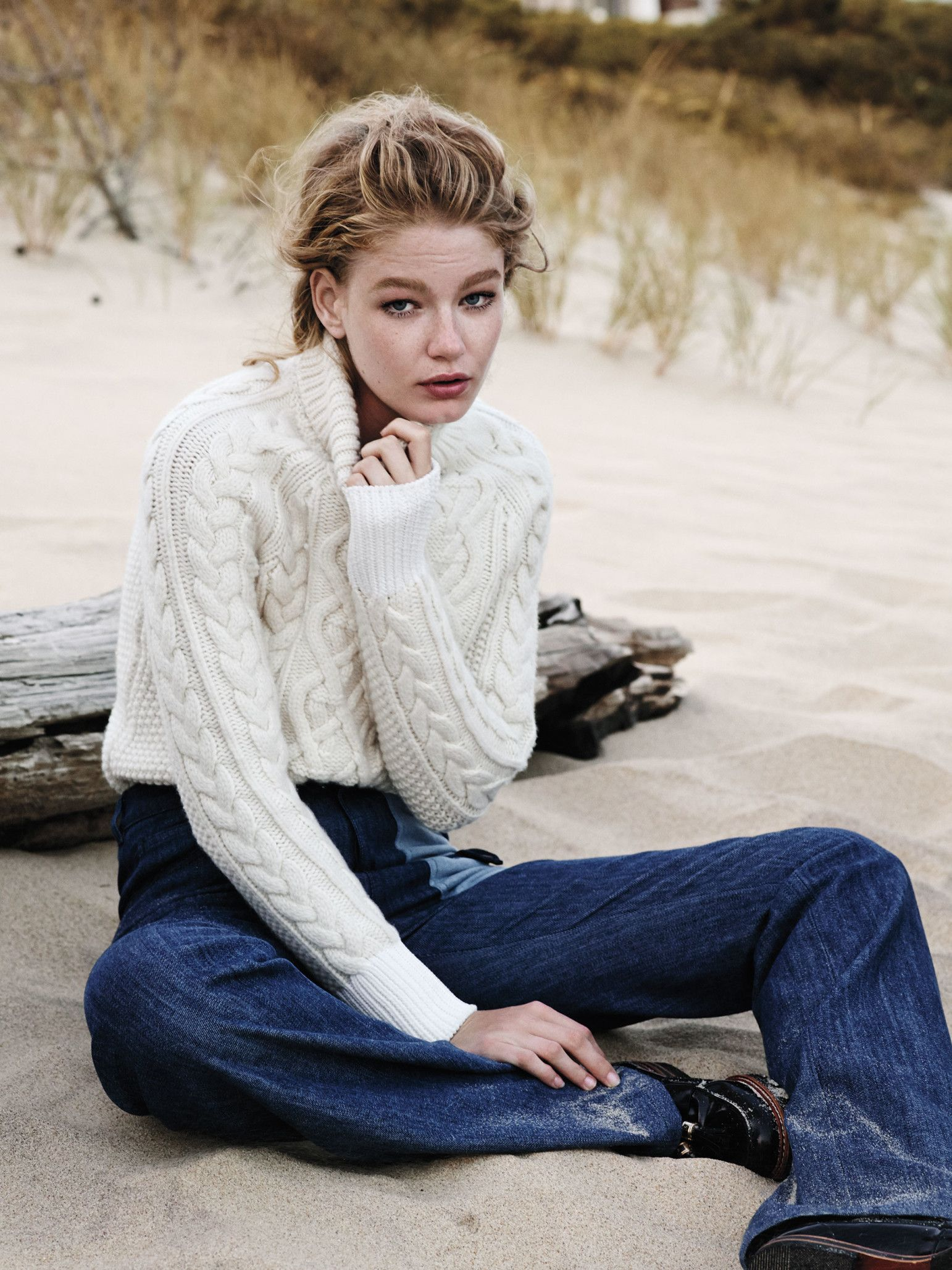 Fall's best sweaters are nautical. See the full fashion story on wmag.com.