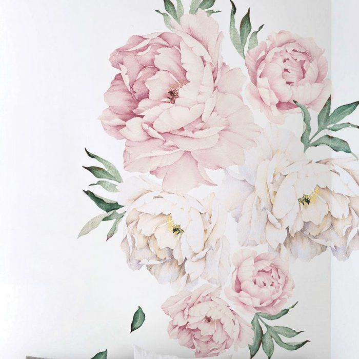 39++ Peony flower wall decals ideas
