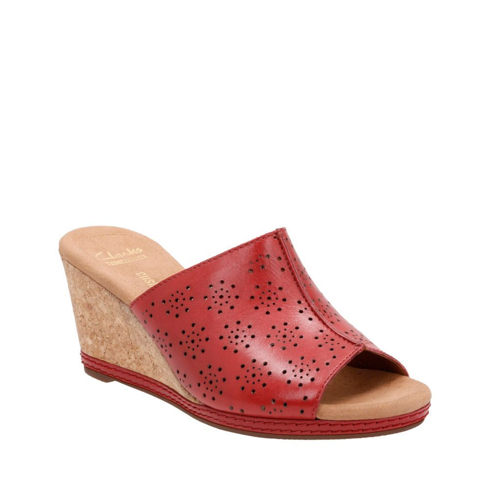 Helio Corridor Red Leather womens-collection