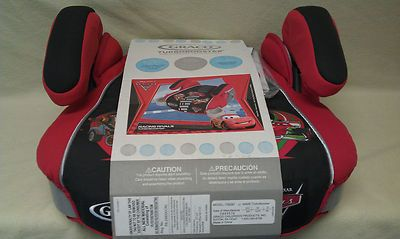 Disney Pixar Cars Lightning McQueen Booster Car Seat Mcqueen
