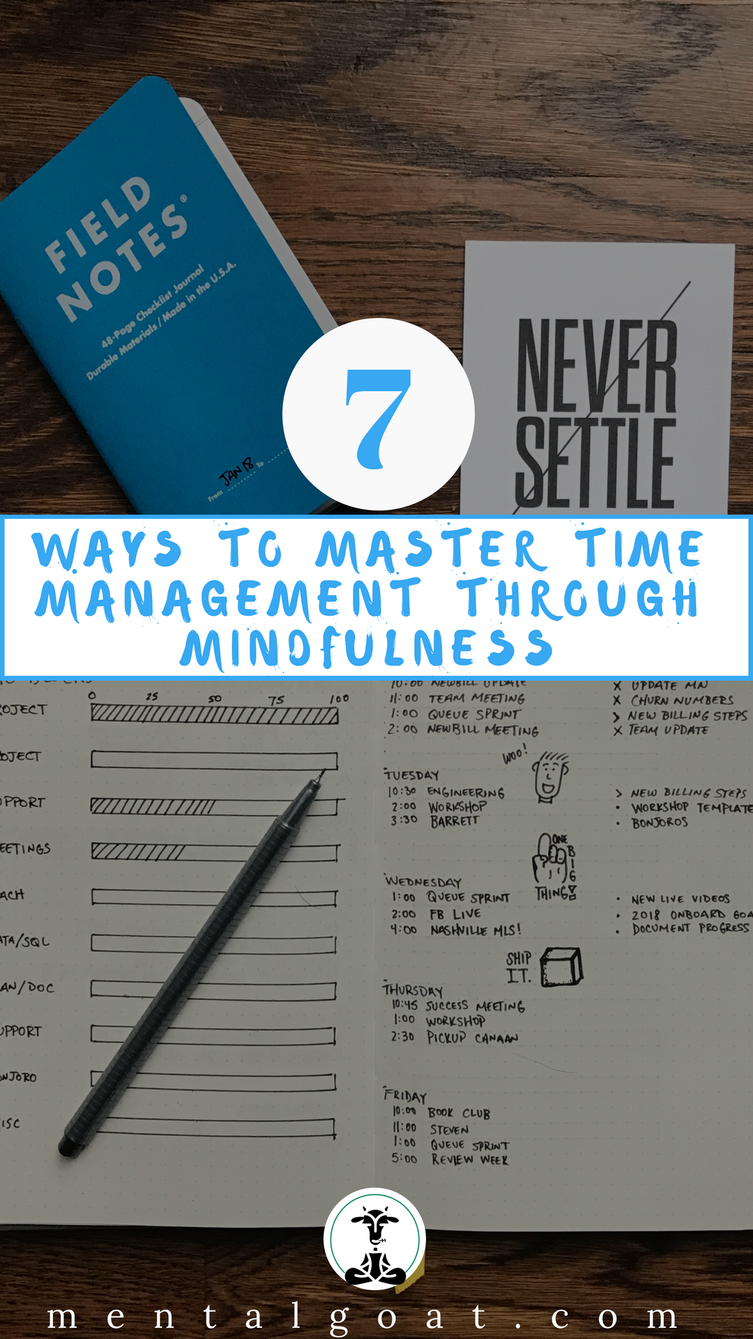 Seven Ways To Master Time Management Through Mindfulness