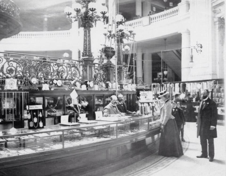 The Emporium Sf The Jewelry Dept Ca 1898 Courtesy Of