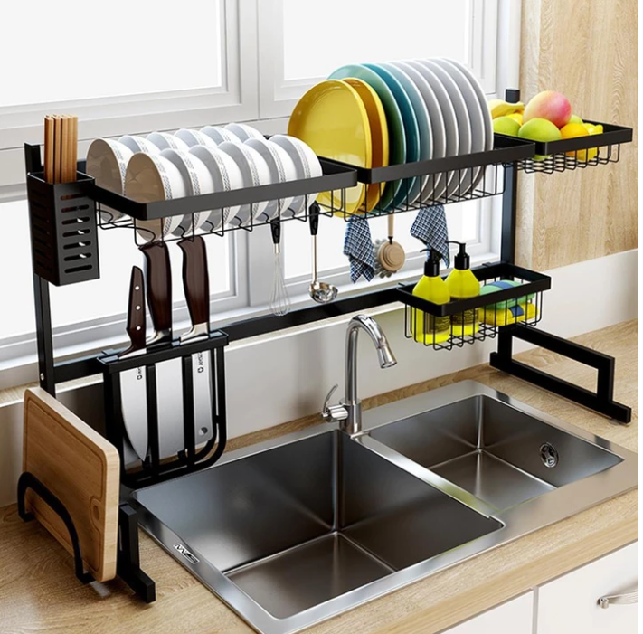 Photo of Stainless Steel Kitchen Dish Rack – Famous Last Words