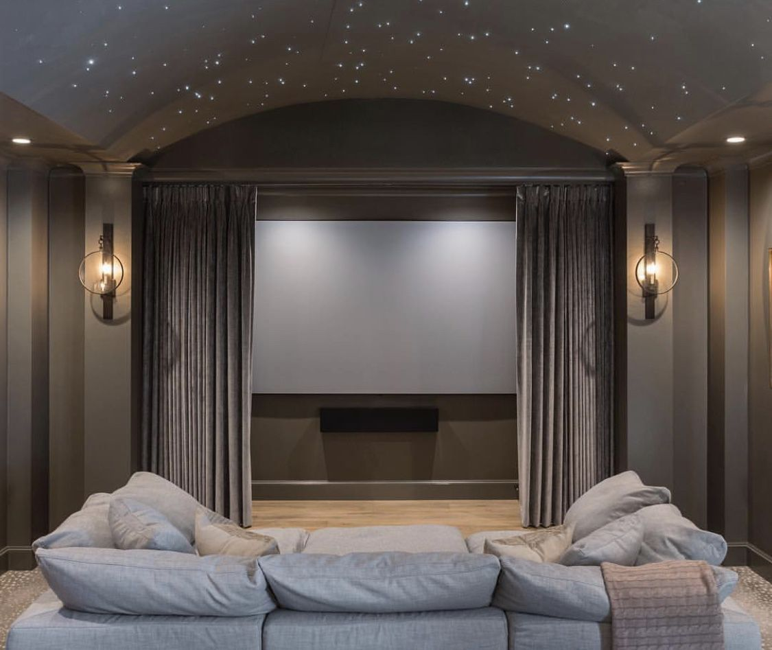 When One Sets Out To Design A House Theater, There Are
