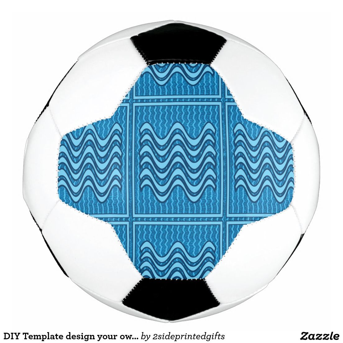 DIY Template design your own SOCCER BALL | Soccer ball and Template