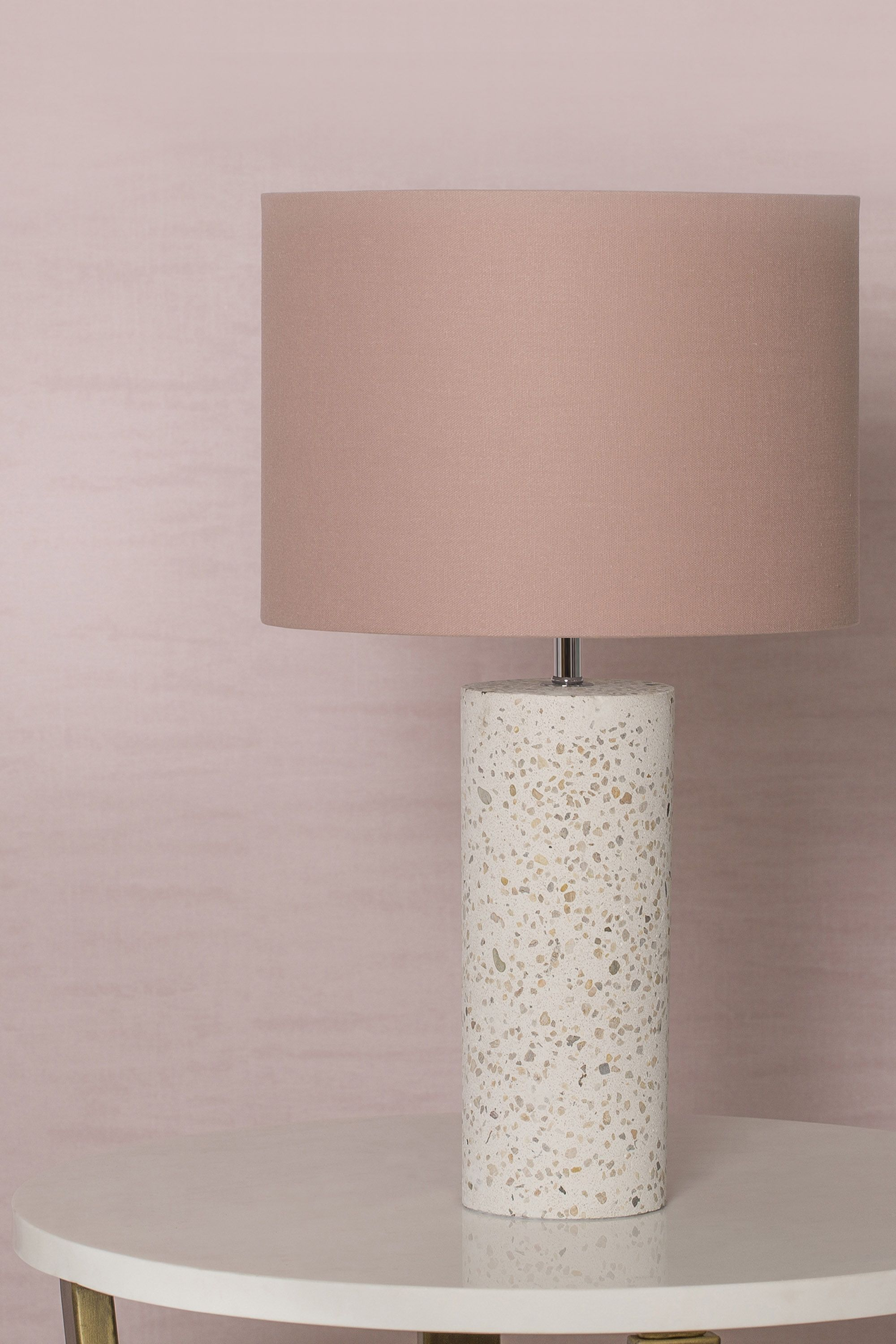 Dulce Terrazzo Large Table Lamp Pink Bhs 40 In 2019
