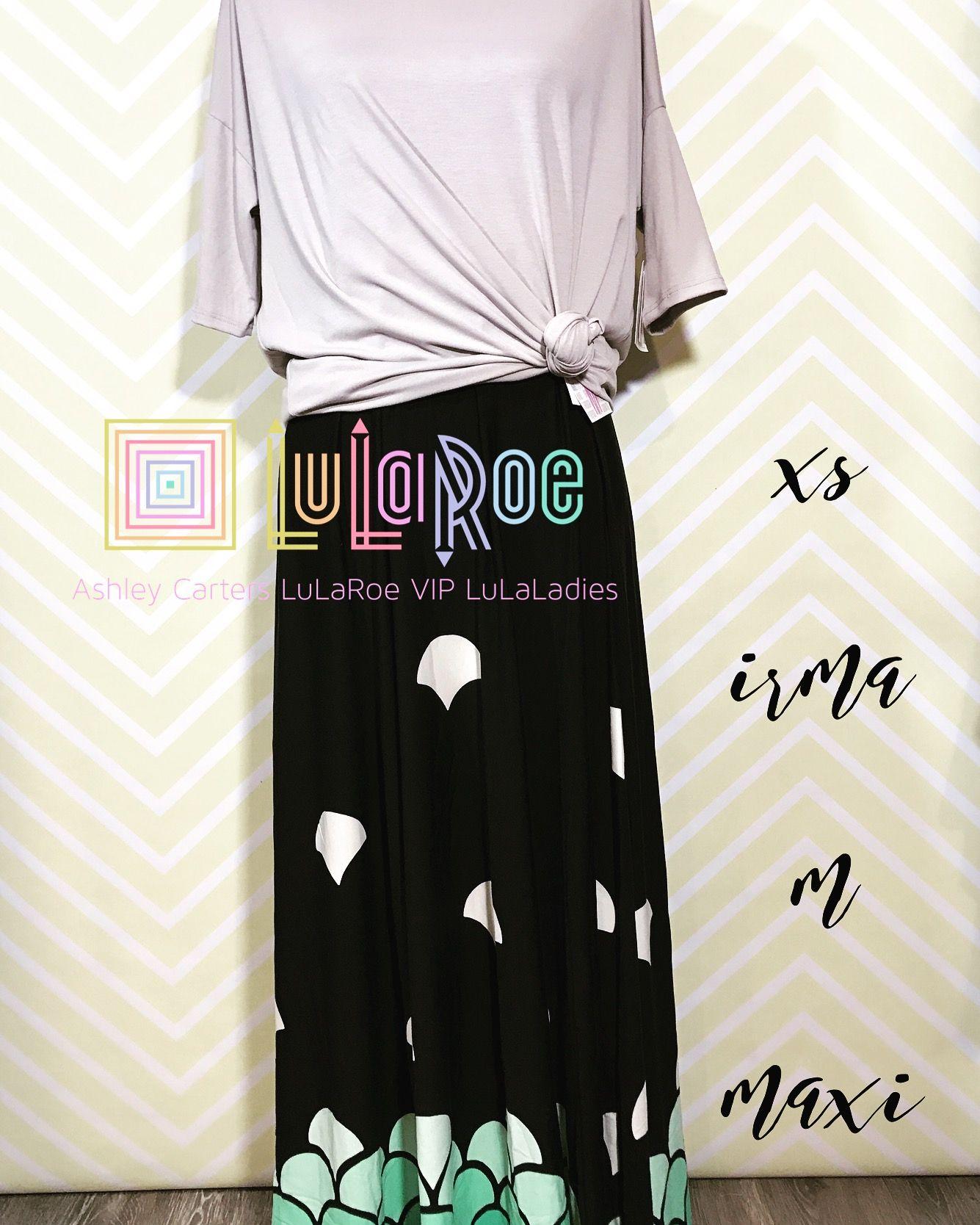 c861beb2a4 lularoe mermaid maxi skirt! | Styled LuLaRoe Clothing Outfits ...