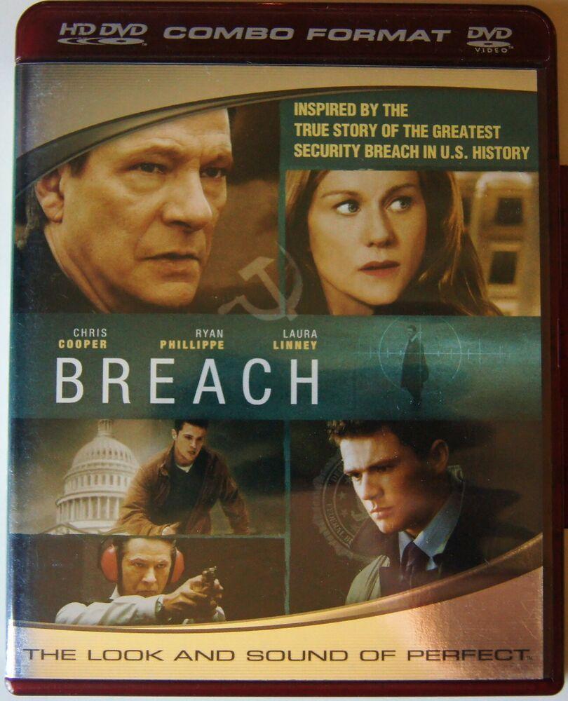 Breach Hd Dvd 2007 Hd Dvd And Dvd Combo Chris Cooper Ryan Phillippe Kathlee Universal Dvd Combo Ebay