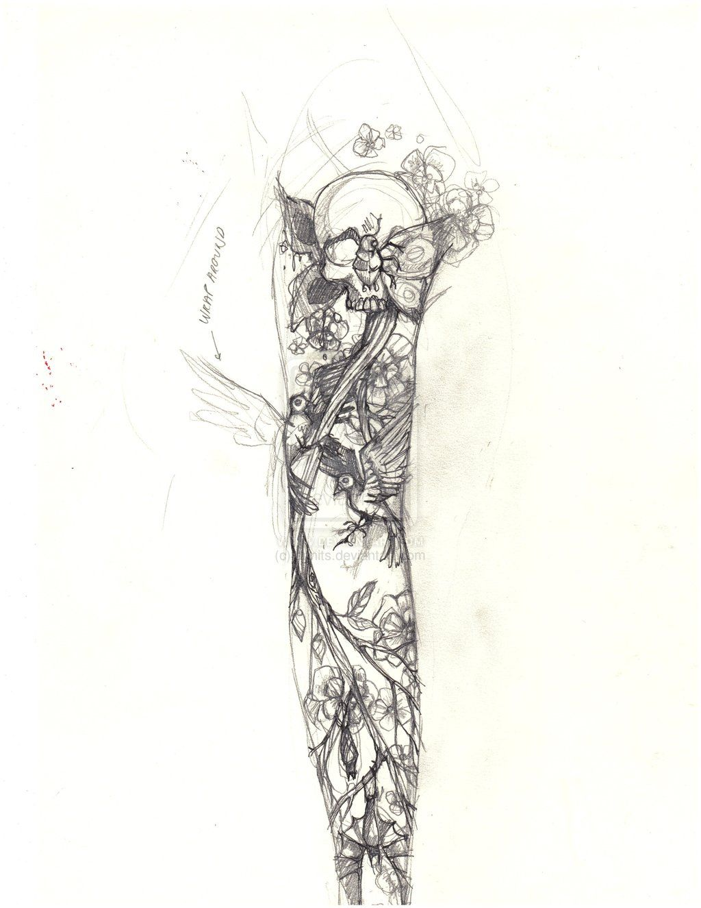 Beautiful Sketches For Sleeves