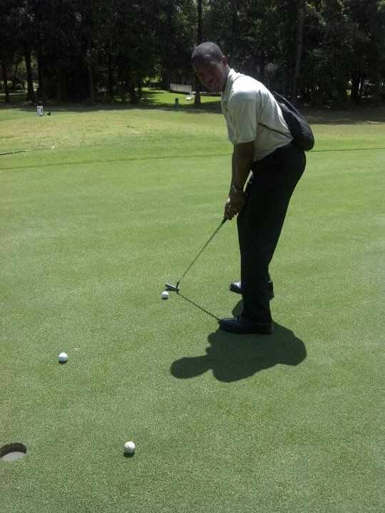 I went golfing with SBI today. It was a great networking experience and golf lesson time. :) Shout out to http://www.facebook.com/FAMUSBI
