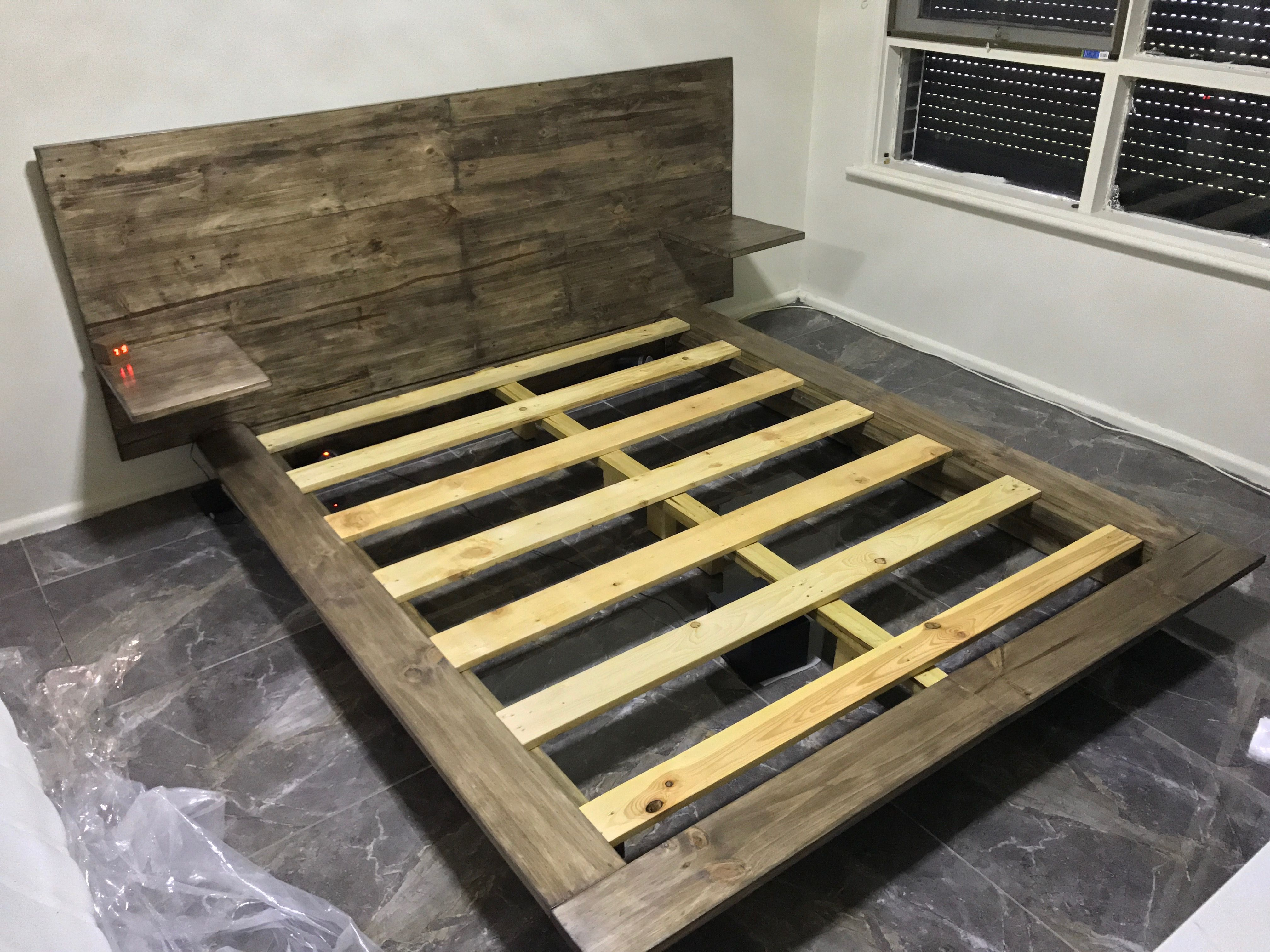 Pin on DIY PLATFORM QUEEN SIZE BED YnK PROJECT