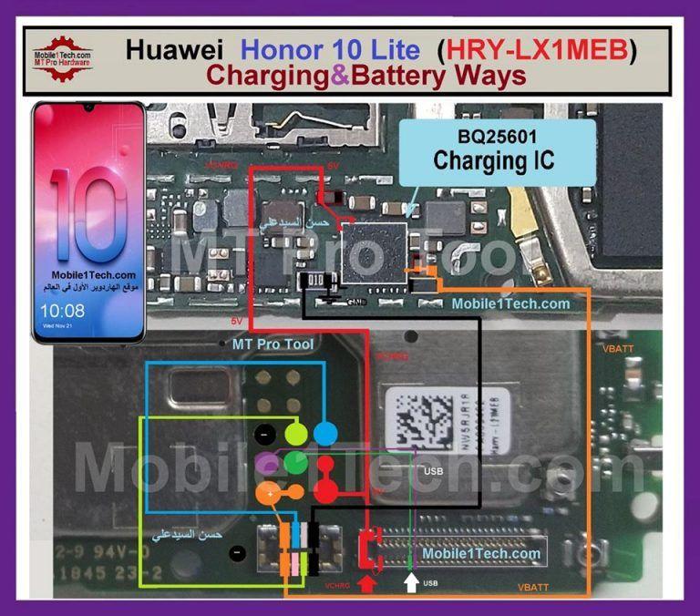 Huawei Honor 10 Lite Charging Solution Jumper Problem Ways