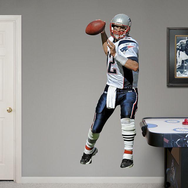 New England Patriots Fathead Wall Decals & More | Shop NFL Fathead