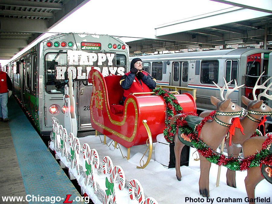chicago christmas train cta christmas l train schedual fors marketing company chicago christmas