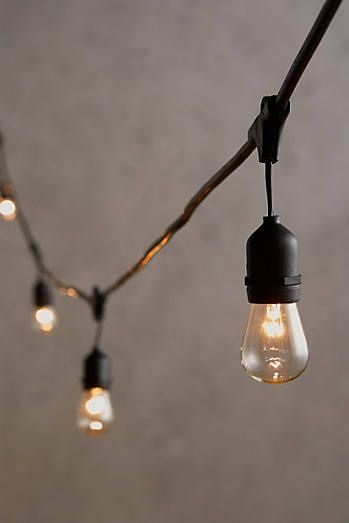 Cafe string lights let there be light pinterest lights cafe string lights host a farmhouse party outdoors and hang these lights around the party farmhouse decor all lit up aloadofball Image collections