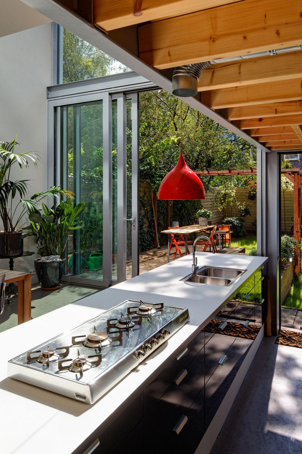 Arejada e inspiradora! Foto: ArchDaily   Conejera   Pinterest   Cocinas