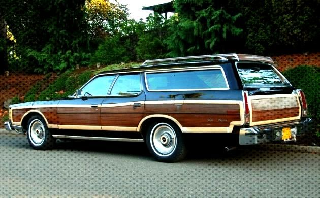 Luxury Estate: 1977 Ford Country Squire Luxury Estate: 1977 Ford Country Squire