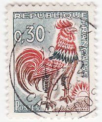 What's the story of the French rooster?