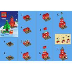 Christmas Holiday Building Set LEGO 40009